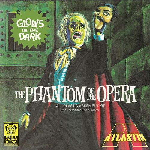 Atlantis Phantom Of The Opera Glow In The Dark Model Kit